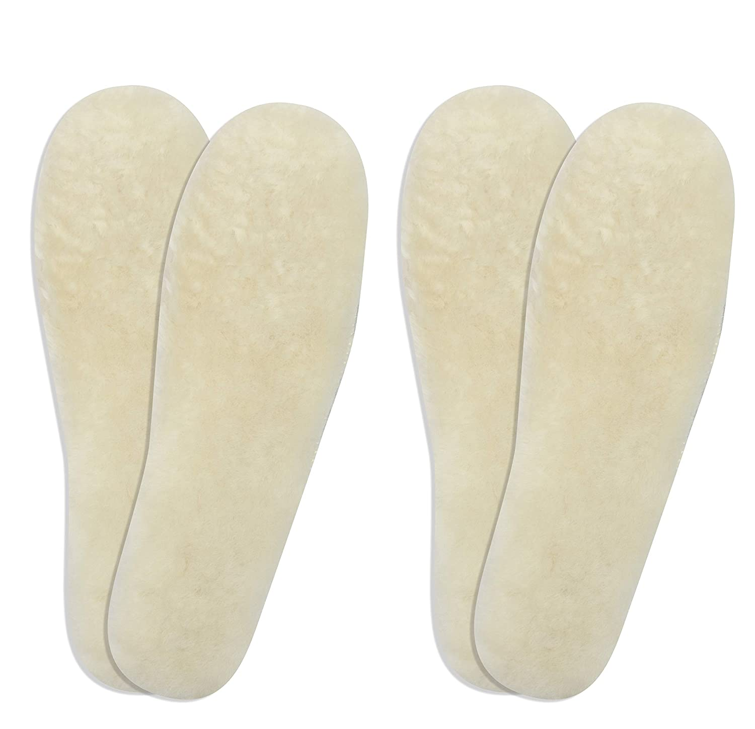 2-Pack Ricardo B.H. Women's Premium Sheepskin Insoles