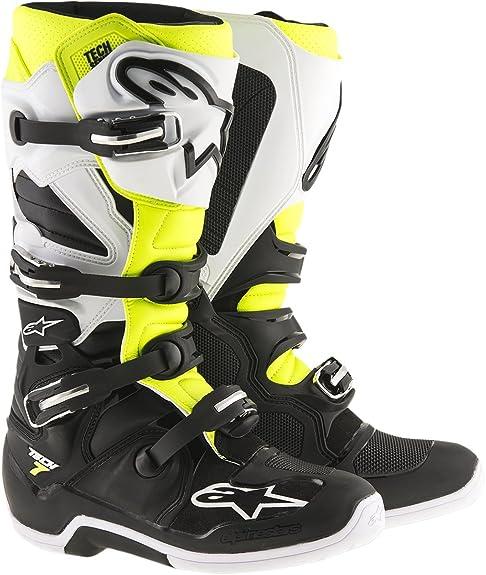 Alpinestars Tech 7 Men s Motocross Motorcycle Boots - Black Size 10 ... 147d858093ef0