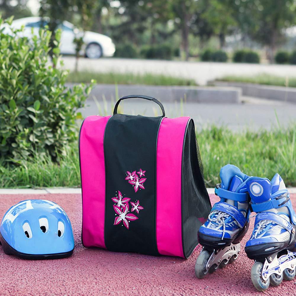 Ice Skates High Bounce Inline Skates Bag Roller Skates for Boys and Girls Carrying Inline Skates