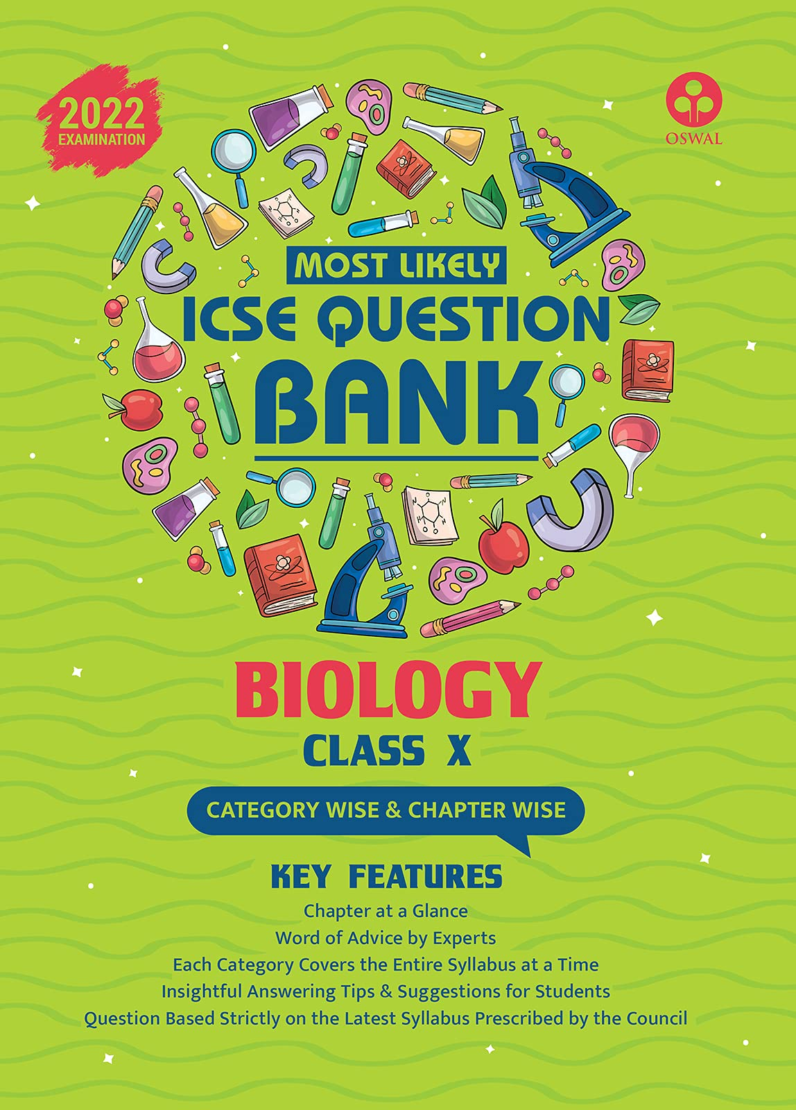 Most Likely Question Bank for Biology: ICSE Class 10 for 2022 Examination Paperback – 15 April 2021