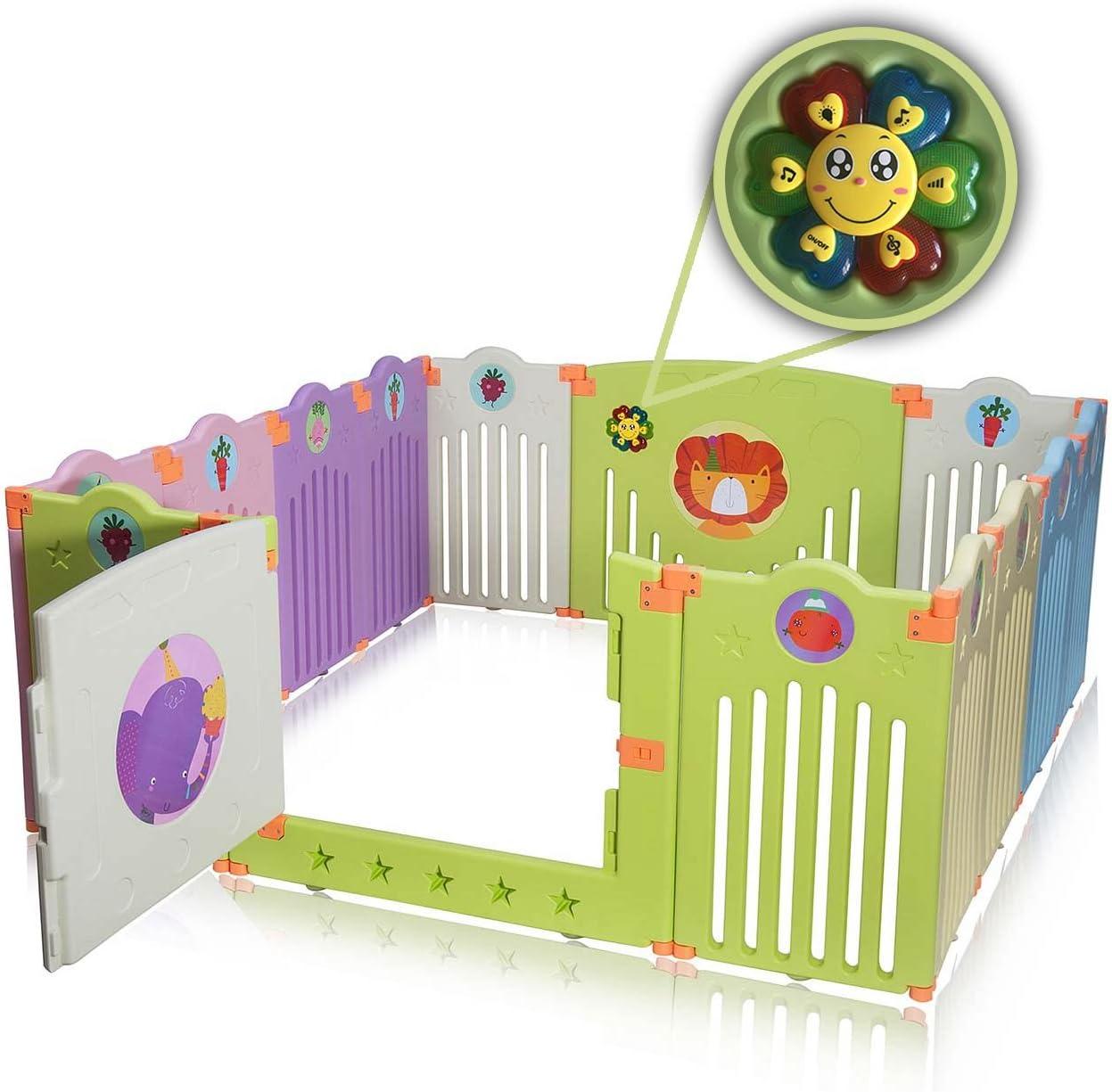 Baby Vivo Accessori per Box Corralito Safari