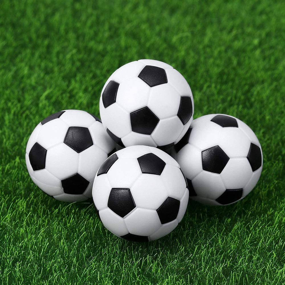 Vientiane 9 Piezas Mini 32 mm Mesa Futbolín, Balones de Fútbol ...