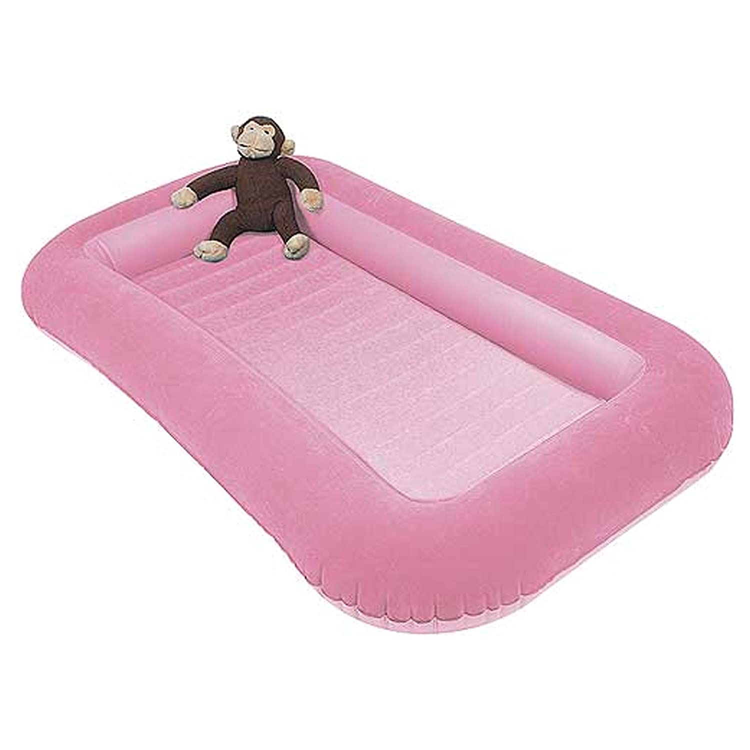 Kampa Airlock Junior Camp Air Bed With Side Cushions Candyfloss Pink Amazoncouk Sports Outdoors