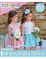 Revista patrones de costura infantil, nº 4. Moda Primavera-verano, 28 modelos