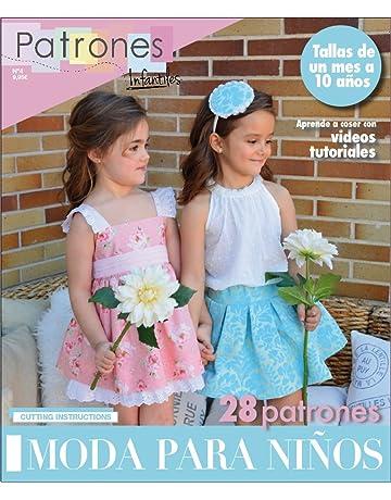bb7f7ec89 Revista patrones de costura infantil, nº 4. Moda Primavera-verano, 28  modelos