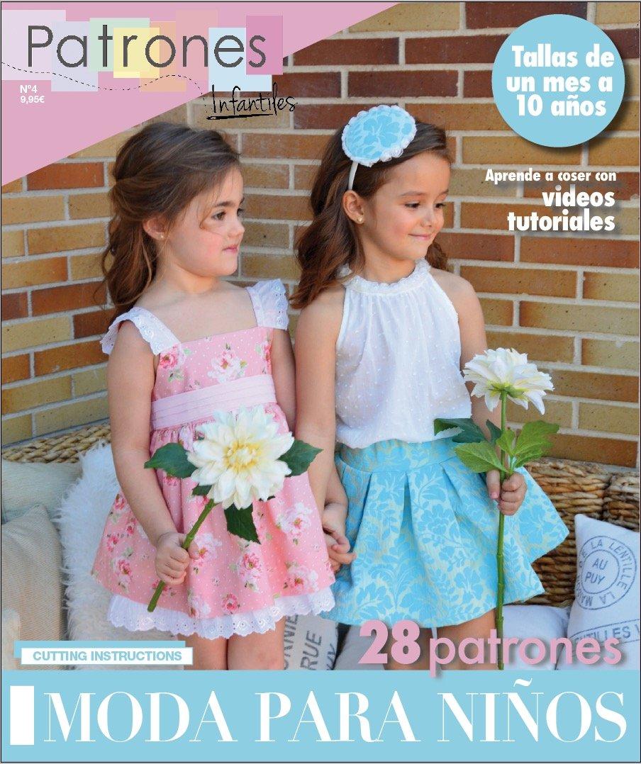Revista Patrones moda infantil nº4