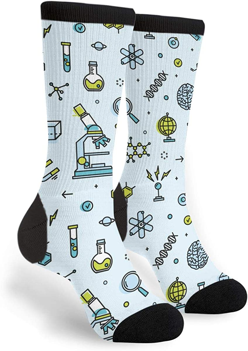 Crazy Socks For Men Geek /& Science Novelty Crazy Cool /& Funky Colorful Sock Mens Funny Dress Socks