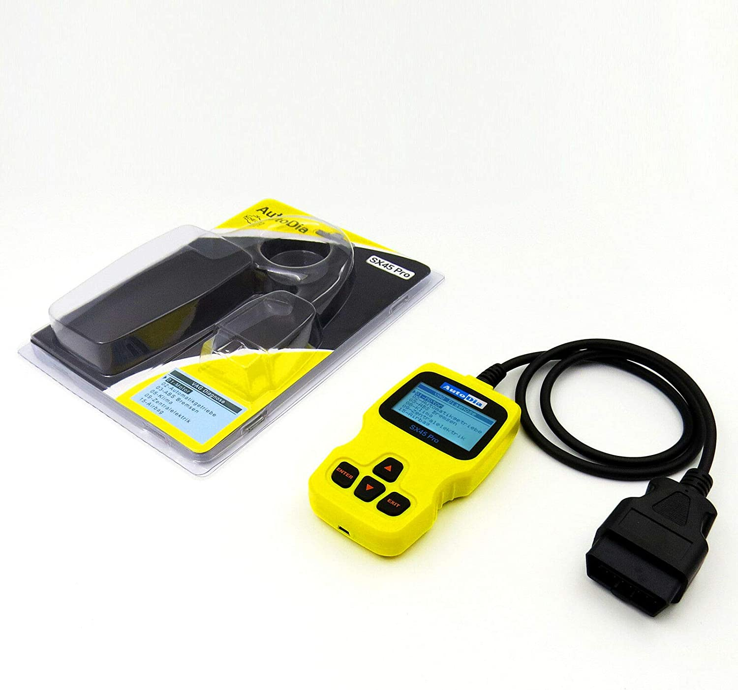 Autodia Sx45 Pro Can Bus Diagnose Handscanner Obd2 Auto