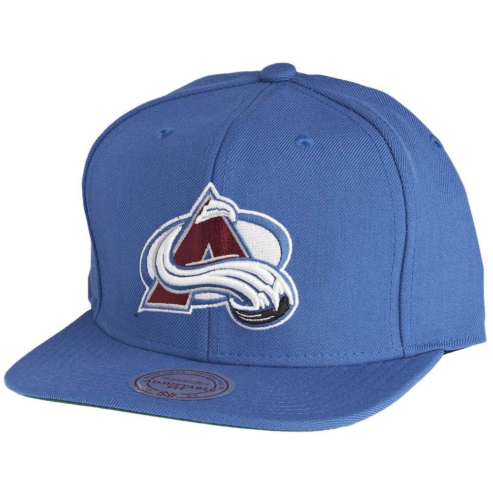 153495f0a6b Mitchell   Ness Snapback Cap - NHL Colorado Avalanche Logo  Amazon.co.uk   Clothing