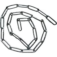 Stalen ketting/ijzerketting (verzinkt) 22 mm ledellengte / 8 mm leedbreedte - 25 cm 50 cm 75 cm 100 cm kettinglengte…