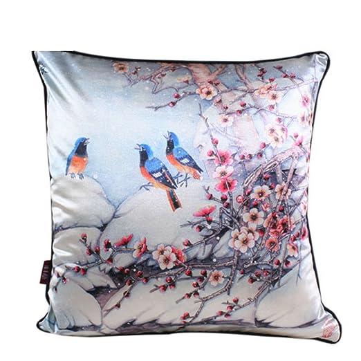 Estilo chino chino/almohada cubierta de sofá cojines ...