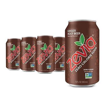 Zevia Zero Sugar Ginger Beer