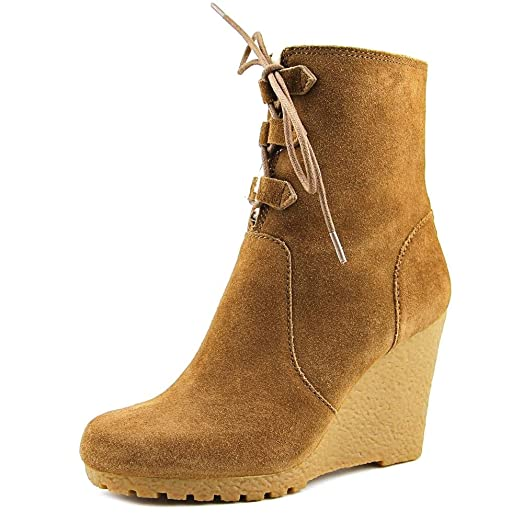 Rory Boot Womens Dark Caramel Suede Fashion Ankle Boots