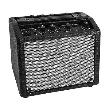 fghdfdhfdgjhh Fit Aroma AG-03M 5W Guitarra El/éctrica Port/átil Amplificador de Bajo Multifunci/ón Grabador Amplificador USB Recargable Altavoz Accesorios de Guitarra