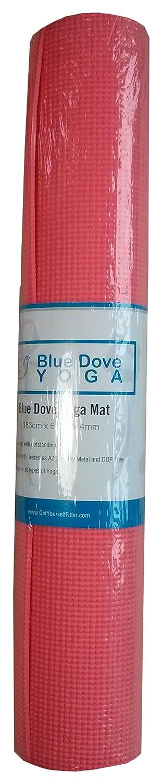 Blue Dove Jalna-Alfombrilla de yoga Rosa rosa Talla:183 x 61 ...
