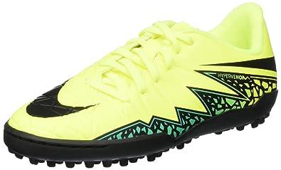 Nike Jr. Hypervenom Phelon II TF Kids Turf Soccer Shoe (2.5 M US