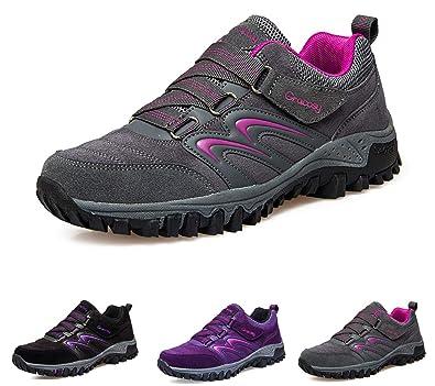 save off a6b43 4191c gracosy Scarpe da Trekking Donna Arrampicata Sportive All'aperto  Escursionismo Sneakers Passeggiata Impermeabili Scarpe da Montagna Scarpe  da Corsa