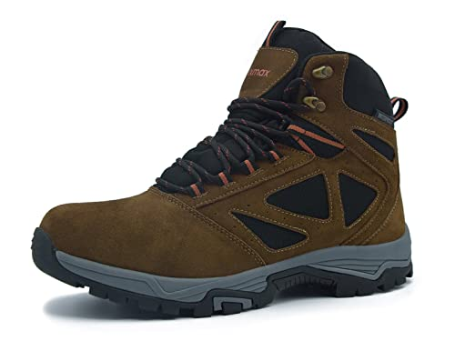 Hot Womens Waterproof High Top Shoes Lace Up Outdoors Hiking Non-slip Warm Boot
