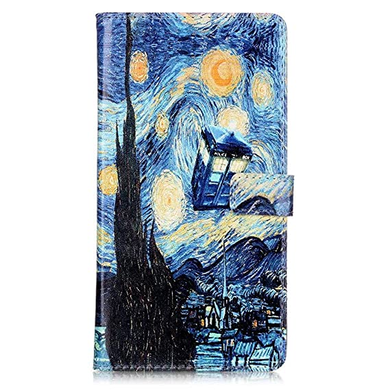 Amazon com: SunshineCase(TM) iphone 7 Case - Tardis Blue