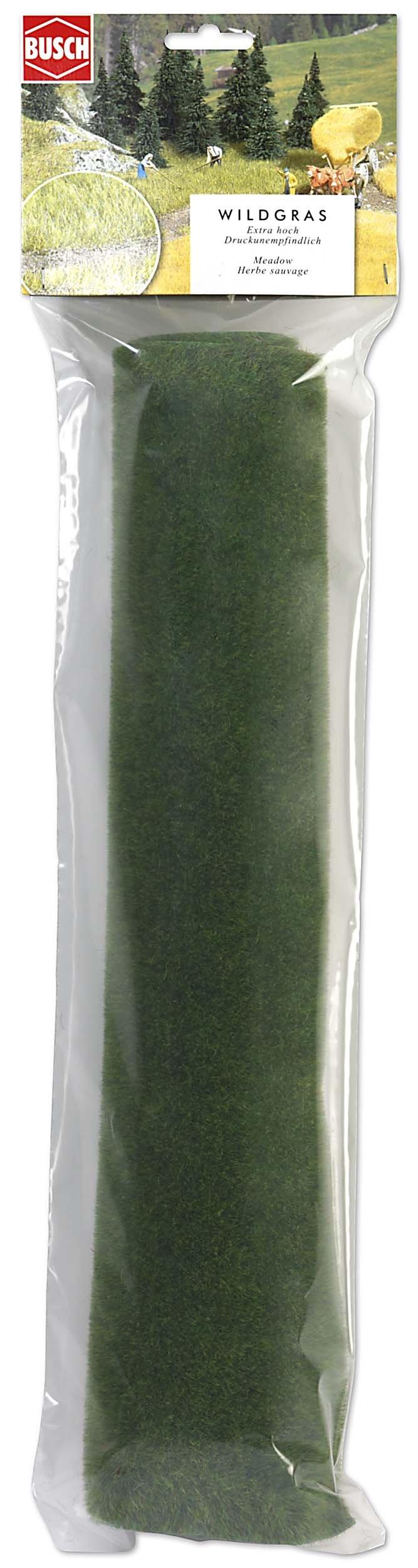 Busch 7210 Grass Matting Small Lt Green HO Scenery Scale Model Scenery