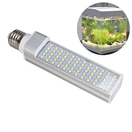 Amazon.com : UEETEK Aquarium Light, 52LEDs 800-950 Lumens 11W E27 LED Energy Saving Lamp Light for Fish Pod/Fish Tanks/Aquariums (White) : Pet Supplies