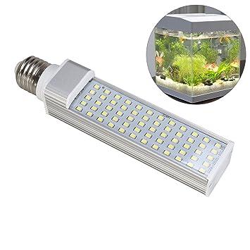 UEETEK Lámpara de Acuario LED Luces Ahorro de Energía para Pecera y Estanques 11W E27: Amazon.es: Productos para mascotas