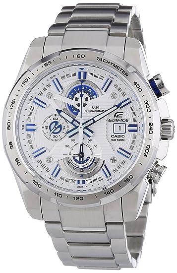 0e5b81f89120 Casio EFR-523D-7AVEF - Reloj analógico de cuarzo para hombre con correa de  acero inoxidable