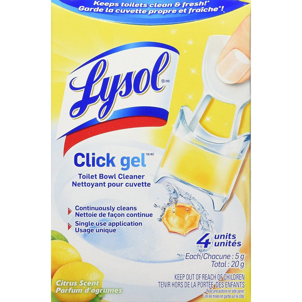 Amazon.com: Lysol Automatic Toilet Bowl Cleaning Click Gel
