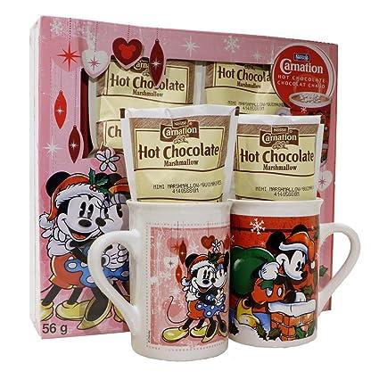 Disney S Mickey Minnie Mouse S Nestle Carnation Hot Cocoa Mug Set