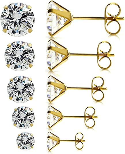 Top 10 Best Earrings for Sensitive Ears - Hypoallergenic Earrings 1