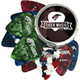 Tiger GAC14 10 Gitarrenplektren mit Dose