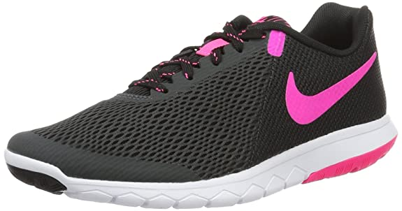 NIKE Womens Flex Experience RN 5 Running Shoe Anthracite/Pink Blast/Black 6 B(M) US