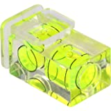 Protector for Hot Shoe Flash with Spirit Level 2Axis for Universal Hot Shoe for Nikon, Canon, Olympus, Pentax and Fujifilm Cameras