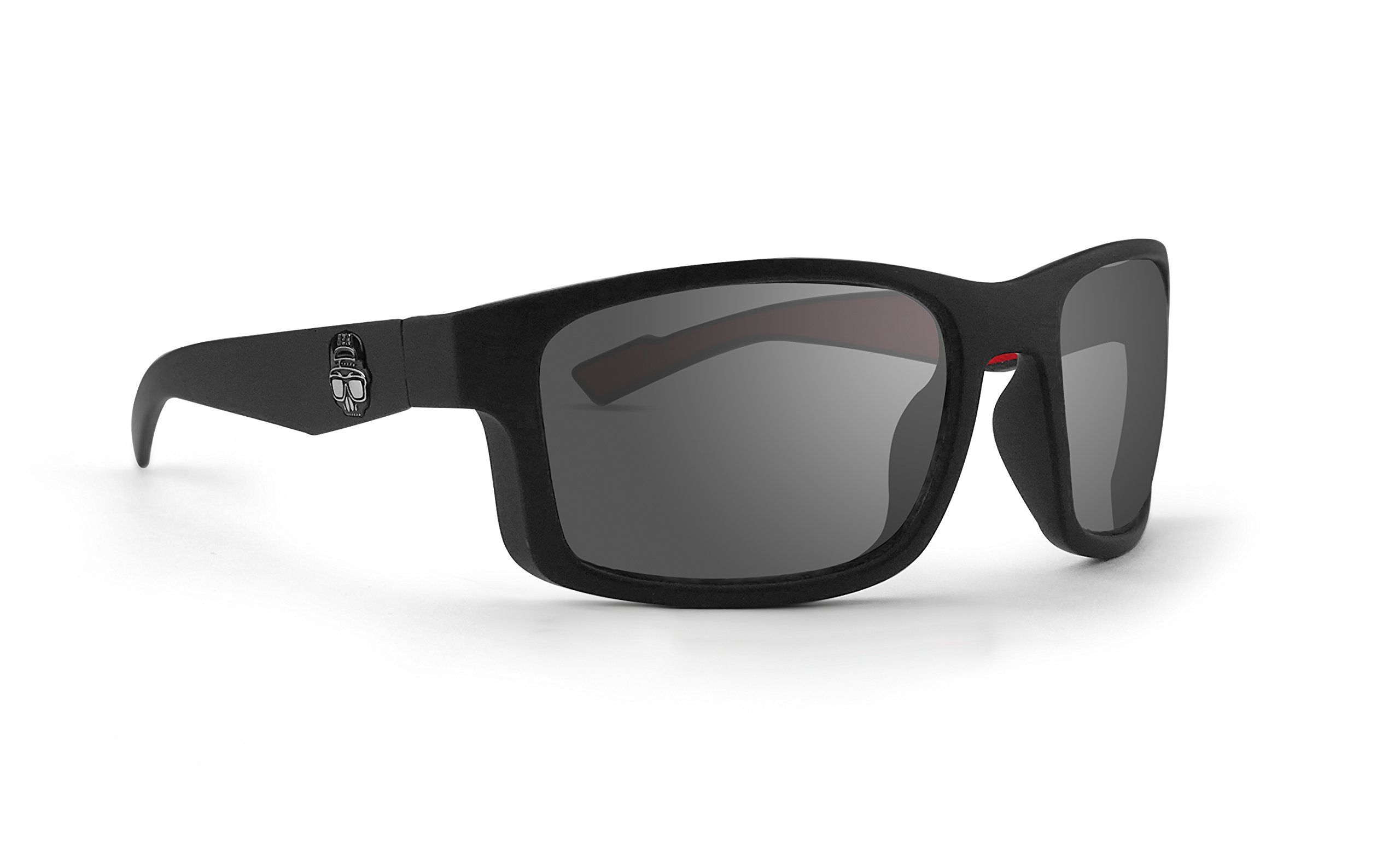 Epoch Adam Sandoval Rides Magnet Performance Glasses Black Frame Smoke Lens