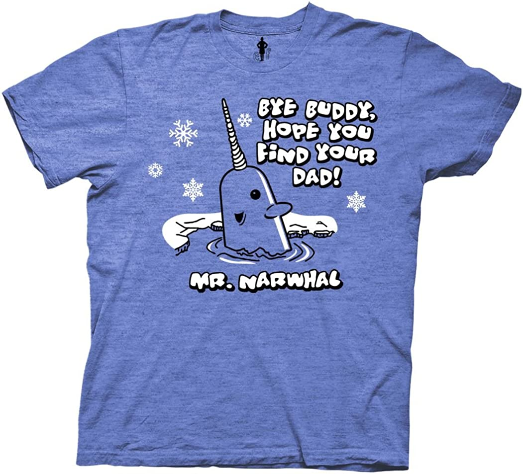 Elf The Movie Christmas Mr. Narwhal T-Shirt