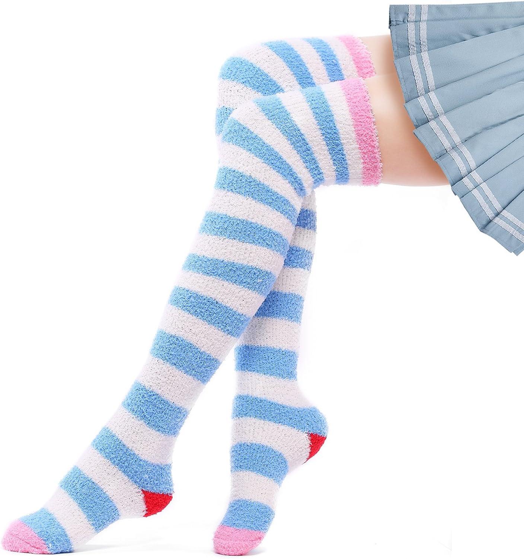 LittleForBig Chaussettes montantes Femme taille unique