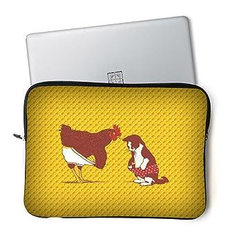 Moda ultraligero impermeable y antigolpes estilo único 11,6 12 pulgada NETBOOK/Ultrabook/MacBook Air/ordenador portátil/maletín de neopreno bolsa funda de ...