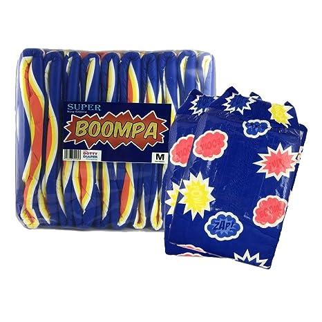 Super Boompa por Dotty pañales – tamaño mediano – Pack de 2 muestras
