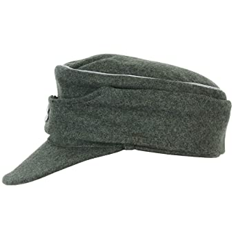 a182f18a Epic Militaria Officers M43 Ski Cap - Field Grey at Amazon Men's Clothing  store: