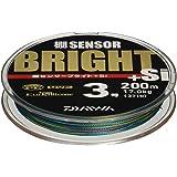 ダイワ(Daiwa) PEライン 棚センサーブライト+Si 200m 3.0号 マルチカラー