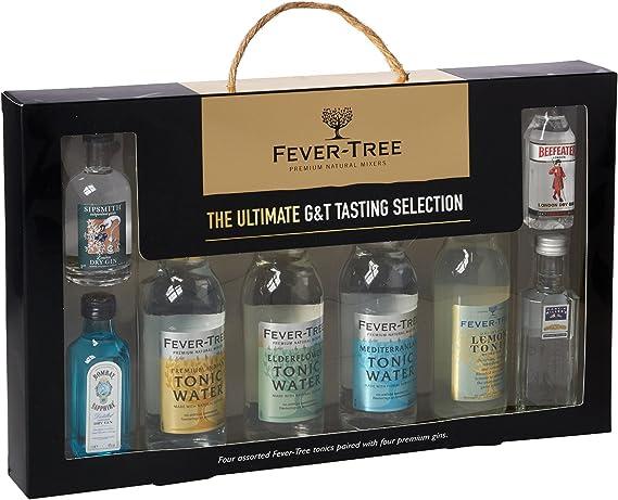 Fiebre Árbol Ultimate Collection (Juego de 8 botellas de Gin y Tonic): Amazon.es: Alimentación y bebidas