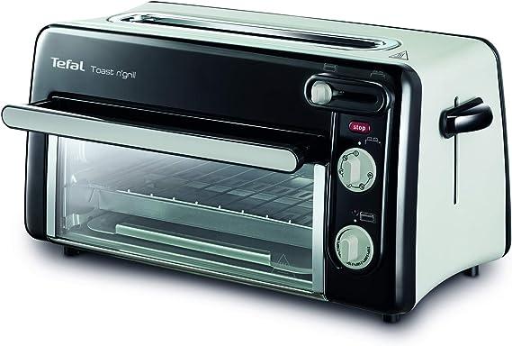 Tefal Toast & Grill TL6008 - Tostador y horno, 2 en 1,