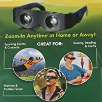 Moradiya fresh Hands-free Binoculars Wear Like Sunglasses with 400% Magnification Zoomies