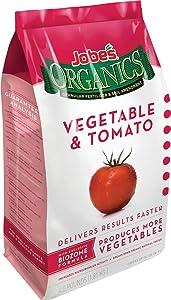 Jobe's, 09026, Organic Vegetable, Tomato Granular Fertilizer, Sold As 1 Each