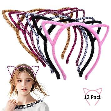 Frauen Haar Stirnband Haar-Stirnband Mädchen Katzenohr Haarband Werkzeug schön