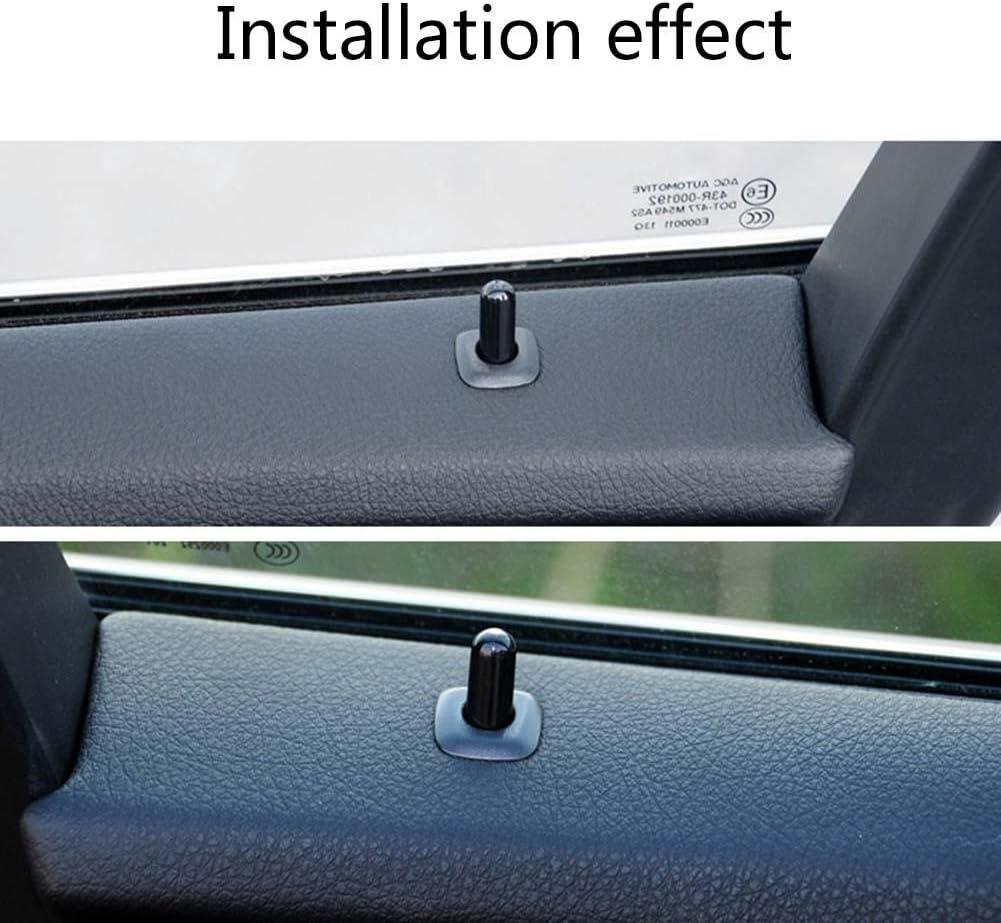Door Lock Button Pin Screw Knob Black for BMW F10 F02 F07 E70 525 730 X1 X6