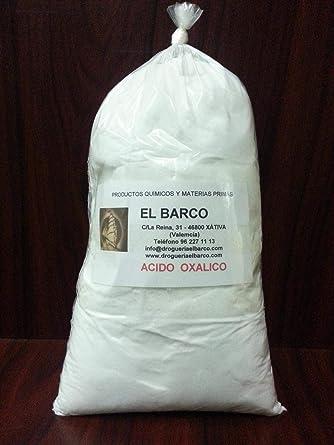 Acido Oxalico 1 Kg: Amazon.es: Industria, empresas y ciencia