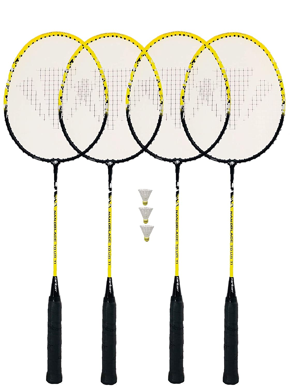 6 Carlton Shuttles RRP £550 2 x Browning Platinum Nano 80 Badminton Rackets