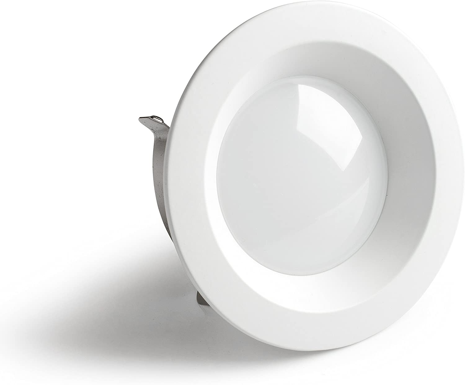 Warm White Circle Base 1150 Lumens Available in Warm White and Cool White Clarity Bathrooms Hallways 4 Inch Indoor Ceiling Lighting for Kitchens LED Recessed Retrofit Downlight Small