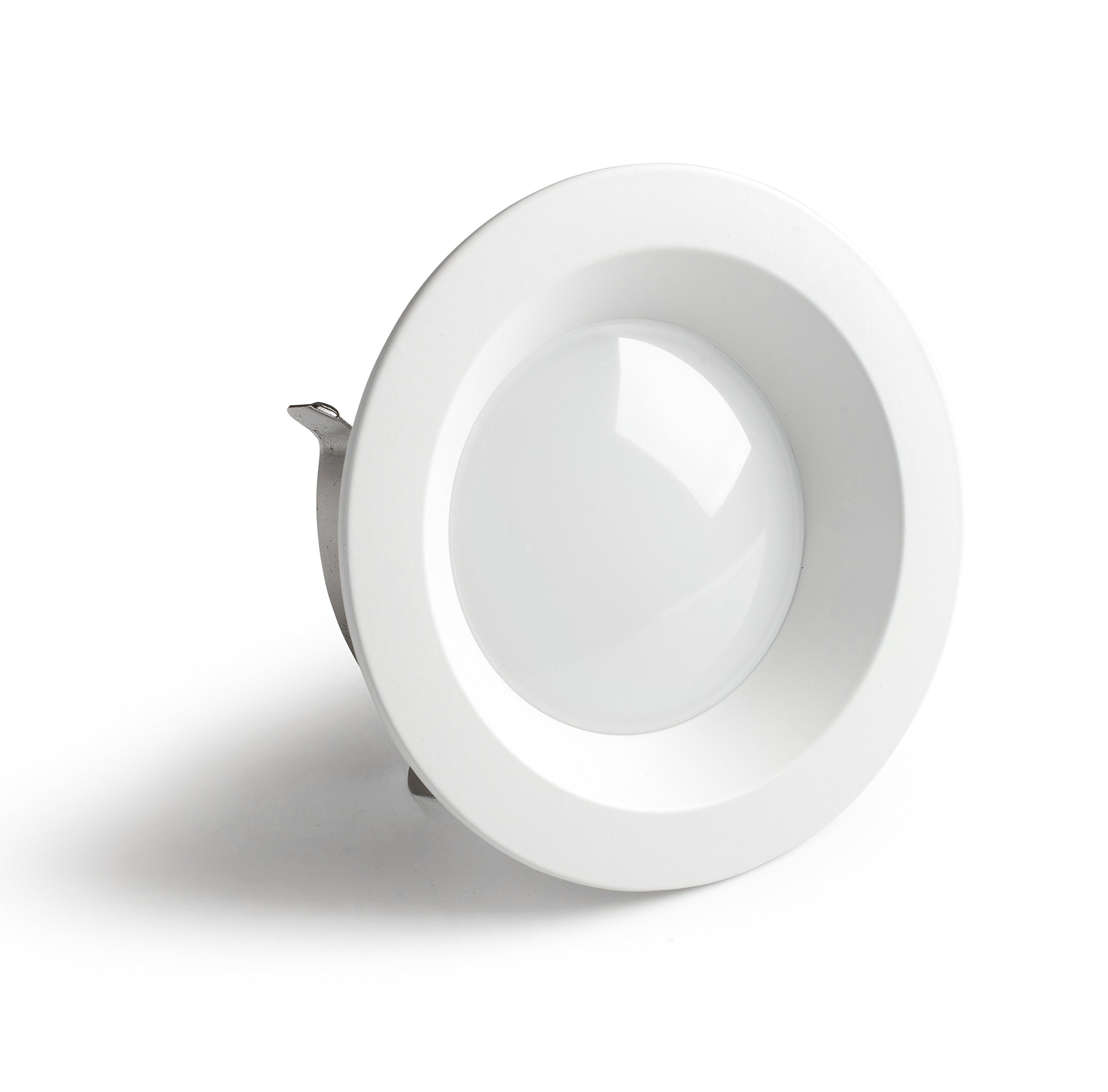 LED Recessed Retrofit Downlight (4 Inch) Indoor Ceiling Lighting for Kitchens, Bathrooms, Hallways | Small, Circle Base 1150 Lumens | Available in 3000K and 4000K Clarity (3000K)